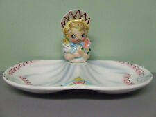 RARE/VHTF Lefton (ESD) Miss Dainty Snack/Candy Dish (Japan/#8677)