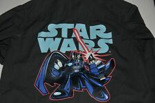 BOYS H&M BLACK STAR WARS LONG SLEEVE SHIRT SIZE 3-4 YEARS
