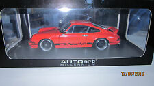 1/18 AUTOart Porsche 911 Carrera Rs 1973 orange BBS Modified TUNING UMBAU turbo