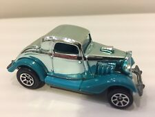 1979 Hot Wheels '34 Ford Coupe Hot Rod Silver & Teal Mattel