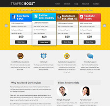 Social Media Reselling Business Script, 100% Autopilot, Outsourcing Business