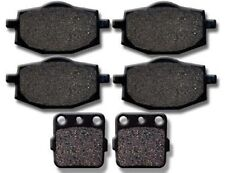 YAMAHA Front + Rear Brake Pads Warrior YFM 350 (1987-1988) Banshee (87-89) YFZ