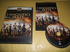 DVD-I MAGNIFICI SETTE-EDIZIONE SPECIALE-WESTERN-1961