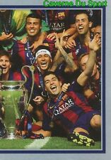 610 FC BARCELONA 2014/15 2/2  WINNERS STICKER CHAMPIONS LEAGUE 2016 TOPPS