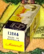 NOS 12BA6 (CV1928) vacuum tube radio TV valve, TESTED