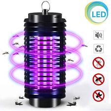 Zanzariera Elettrica Anti Zanzare Mosche Lampada UV LED 3W Elettroinsetticida