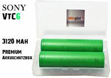 2er Set Sony Konion US18650 VTC6 Akku (3000mAh/3,7V/Li-Ion) VTC6 mit Premiumbox