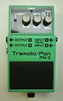 BOSS PN-2 Tremolo Pan Guitar Effects Pedal 1990 #31 Free Shipping
