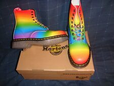 Dr. Martens Pascal Pride  Womens Boots  Multi Pride Rainbow  7.0US / 5.0UK  NIB