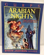 GURPS-ARABIAN NIGHTS Magic & MISTERO nella terra dei Jinn-NUOVO