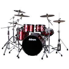 ddrum REFLEX 522 RED SPKL Piece Drum Shell Pack, Red Sparkle