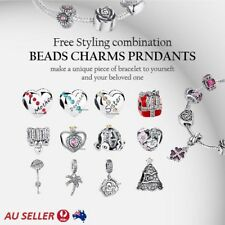 Ladies Jewelry Pendant Stirling Silver 925 European Bracelet Pendant Charms