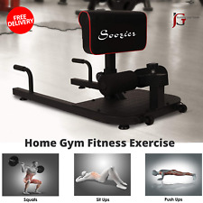 Home Gym Fitness Exercise Steel Equipment For Push Up Sit Up Deep Sissy Squat