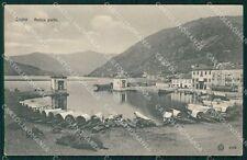 Como Città Lago di Barche cartolina VK0252