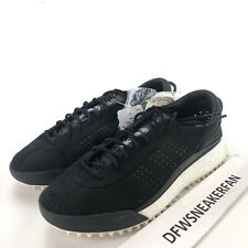 """Adidas Alexander Wang x AW Hike Low """"Black"""" Men's Size 11 Suede Boost AC6839 New"""