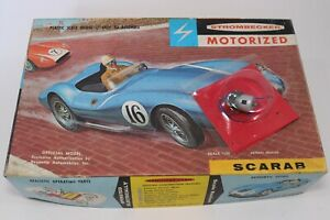 Strombecker Motorized 1:24 ELECTRIC MOTOR & Scarab BOX ONLY NO MODEL KIT