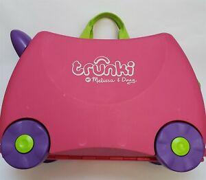 Melissa & Doug Trunki Trixie Ride On Suitcase Pink Kids Travel Childs