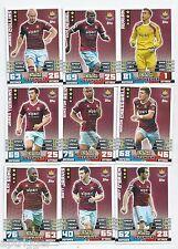2014 / 2015 EPL Match Attax WEST HAM UNITED Team Set (344-360) 17 Cards