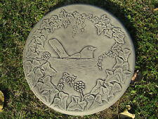 garden ornament57 other designs in my shop! black bird A Stepping stone