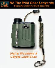 N2 The Wild Gear Lanyards Digital Woodland & Coyote Bino Harness Lanyard Tether