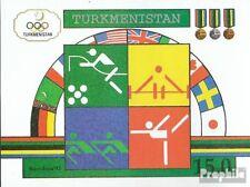 turkmenistan block2 mint never hinged mnh 1992 Olympics Summer ´92