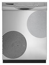 Circles 3D Decal Sticker for Dishwasher Refrigerator Washing Machine Stove Dorm