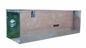 265 US PRO JOB SITE BOX SAFE TACK CHEST TOOL BOX  VAN TRUCK SECURITY  GALVANIZED