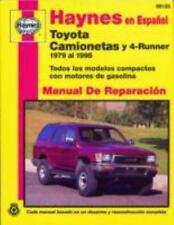 Haynes Toyota Camionetas and 4-Runner 79 - 95 Spanish Repair Manual 99125