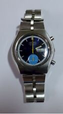 Seiko 6139 Chronograph all stainless steel good working order recently serviced.