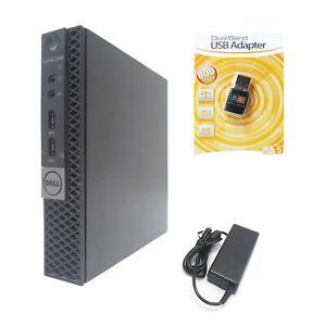 Dell OptiPlex 3040 Micro Desktop 4-Core i5-6500t 2.50GHz 8GB 256GB SSD WIFI HDMI