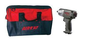 "AirCat NITROCAT 3/8"" Composite Xtreme Twin Hammer Impact Wrench & Bag 1355-XL"
