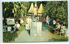 Art Festival City Park Paintings Hagerstown Maryland old Vintage Postcard A86