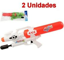 2 Unidades de Juguete Pistola de Agua infantil 56 cm, edad +3 años, niños, niñas