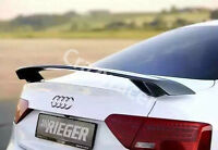 A4 A5 Trunk Spoiler Carbon Fiber Wing for Audi A3 A4 A5 S3 S4 S5 Saloon R Style