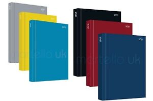 2021 A4, A5 Day to Page, Week to view  Diary Hardback Casebound Diary