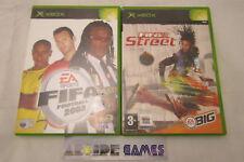 LOT 2 JEUX XBOX FIFA STREET + FIFA 2003 (envoi suivi, vendeur pro)