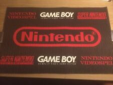 Vintage Retro Store Display Advertising Sign Nintendo Gameboy Super SNES NES