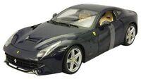 1:18 Mattel Hot Wheels Ferrari F12 Berlinetta Azul Oscuro #BCJ73