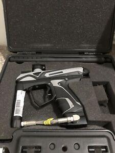 RARE! PAINTBALL eXTCy Black GUN MARKER KIT + CASE like Dye Axe Tippmann JT