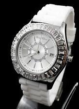 PARIS HILTON UHR Lady Watch Edelstahl silber weiß schwarz PH12009M NEU - OVP