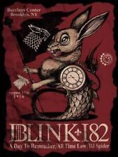 Blink 182 Brooklyn 2016 Greg Craola Simkins Poster Art Print Travis Barker