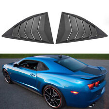 Quarter Side Window Scoop Louver Vent For 2010-2015 Chevy Camaro LS LT RS SS GTS