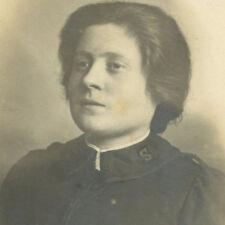 1890 SALVATION ARMY WOMAN IN UNIFORM CARDIFF CDV PHOTO CARTE DE VISITE VICTORIAN