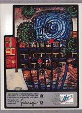 HUNDERTWASSER ( UNITED NATIONS ) WFUNA ART GRAPHIC - 1980 - GENEVA FD CANCELLED