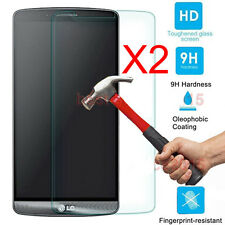 2Pcs 9H+ Premium Tempered Glass Film Screen Protector For LG Cell Phone K8