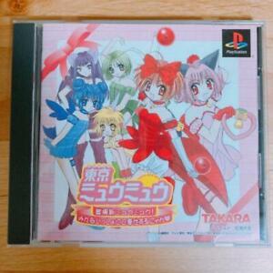PS1 Takara Sony Playstation 1 Tokyo Mew Mew From Japan
