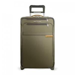 """22"""" Domestic Carry-On Expandable Upright (Two-Wheel) by Briggs & Riley"""