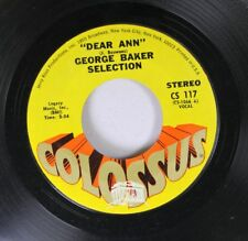 Rock 45 George Baker Selection Dear Ann / Fly on Colossus Records