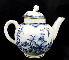 Royal Worcester Miniature Blue & White Teapot Dated 1942