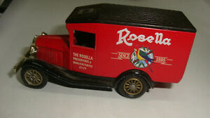 ROSELLA PROMOTIONAL MODEL MANUFAACTURED BY LLEDO PLC, ENFIELD ENGLAND
